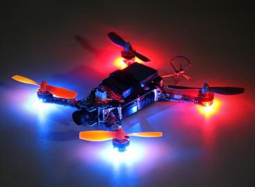 Hermit 145 FPV Quadcopter w/Motors/ESC/Flight Controller/Receiver (BNF)