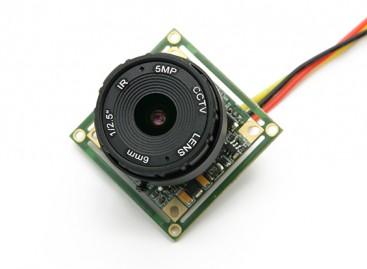 1/2.5-inch Sony CCD Video Camera 700TV Lines F2.0 5MP IR (PAL)