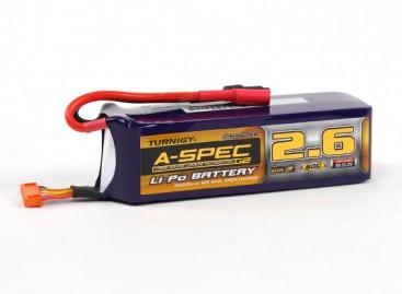 Turnigy nano-tech A-SPEC G2 2600mah 6S 60~90C Lipoly Pack