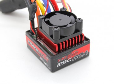 TrackStar Waterproof Brushless 1/10th 80A