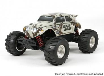 Basher 1/16 4WD Mini Monster Truck V2 - Bad Bug (Kit)