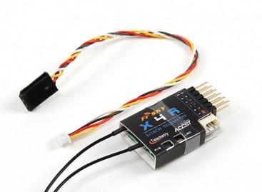 FrSky X4RA 3/16ch 2.4Ghz ACCST Receiver w/S.BUS, Smart Port & telemetry (EU LBT version)