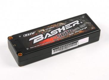 Basher 5600mAh 2S2P 60C Hardcase LiHV Pack