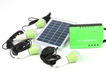 HT-732 Solar Lighting System w/FM Radio