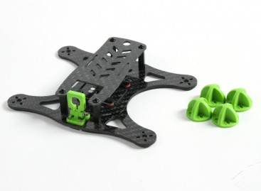 Diatone Lizard 150 v2.0 CF Frame Kit (Green)