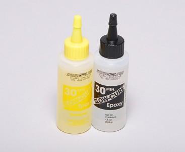 Slow-Cure 30 Min Epoxy Glue 4.5 oz