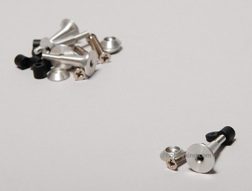 Extra Strong Control Horns 2.8x24mm (5pcs)