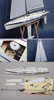 RC Sailboat Surmount