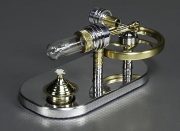Stirling Displacer Engine - Working Display Model