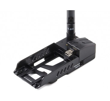 Quanum Mobius ActionCam FPV Docking Station with 600mW 5.8GHz Video Transmitter / Built in OSD Port