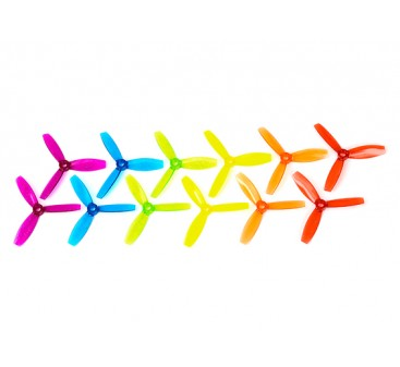 HobbyKing™ X3045 3 Blade Polycarbonate Propellers (6 pairs CW & CCW, assorted colors)