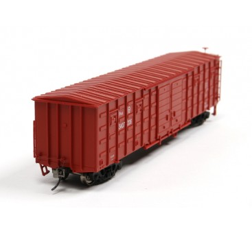 P64K Box Car (Ho Scale - 4 Pack) Front