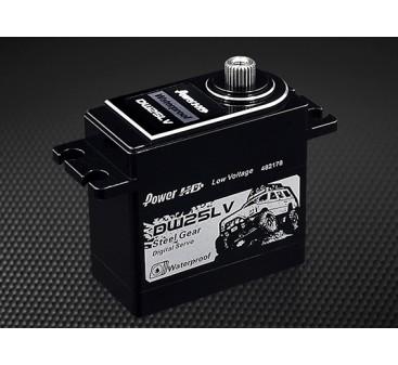 Power HD Servo Digital Waterproof DW-25LV 25kg / 0.11s / 80g- Front