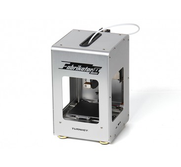 Mini Fabrikator V2 3D Printer - Silver (UK Plug)