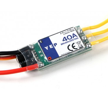 Hobbyking YEP 40A (2~6S) SBEC Brushless Speed Controller