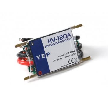 Hobbyking YEP 120A HV (4~14S) Marine Brushless Speed Controller (Opto)