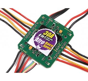 Afro 30A 4-in-1 Race Spec ESC 3~6S w/APM Current Sensor