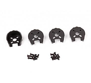 KingKong 22 Universal Motor Cover Protection (Black) (4pcs)