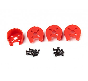 KingKong 22 Universal Motor Cover Protection (Red) (4pcs)