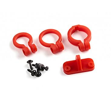 KingKong Universal Camera Lens Adjustable Holder Set (Red)