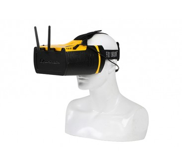 Quanum Fatshark Genesis HD FPV Goggle w/Integrated 32 CH 5.8GHz Diversity Receiver