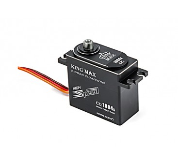 King Max CLS1004s High Torque/BB/DS/MG Servo w/Alloy Case 10kg/0.04sec/71g