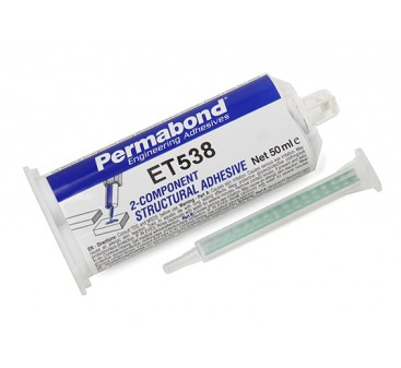 Permabond® ET538 Two-Part Epoxy Adhesive 50ml Twin Tube