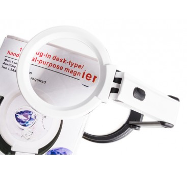 10 LED Desk Type/Handheld Magnifier