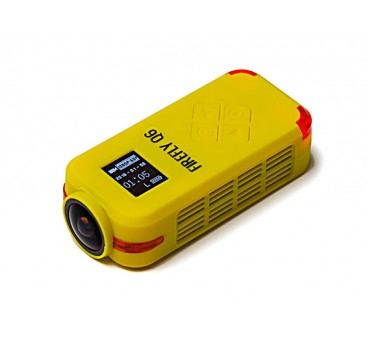 Hawkeye Firefly Q6 4K FPV Sport DV Action Camera (Yellow)