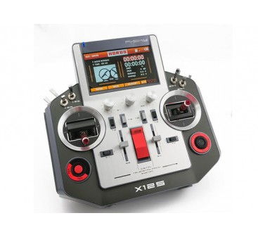 FrSky Horus X12S Accst 2.4GHz Digital Telemetry Radio System (Mode 2) (Silver) (US Charger)