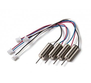 Inductrix or MQX Motor Upgrade Set  15g Thrust (2xCW & 2xCCW) (6x15mm)