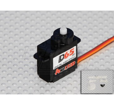 DS65HB Digital High Speed Servo 25T 1.5kg / 0.07sec / 6.5g