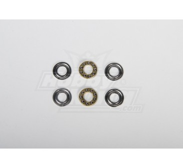 Thrust Bearing 8x16x5mm For All type Heli (2pcs/set)