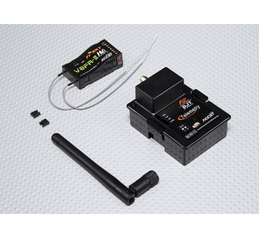 FrSky DJT 2.4Ghz Combo Pack for JR w/ Telemetry Module & V8FR-II RX