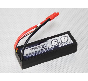 Turnigy 6000mAh 2S2P 7.4v 25C Hardcase Pack
