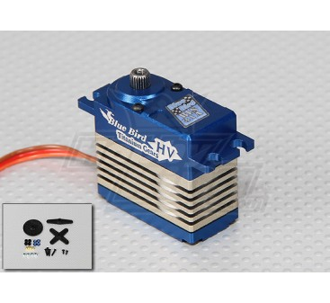 BLS-31A High Voltage (7.4V) Brushless Digital Alloy Gear Servo - 31kg / 0.14s / 74g