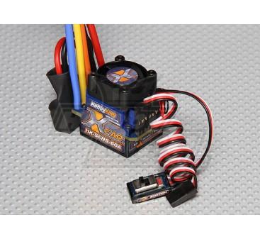 HobbyKing® ™ 60A Sensored/Sensorless Car ESC (1:10/1:12)