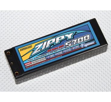 ZIPPY 5700mah 2S2P 50C Hardcase Pack