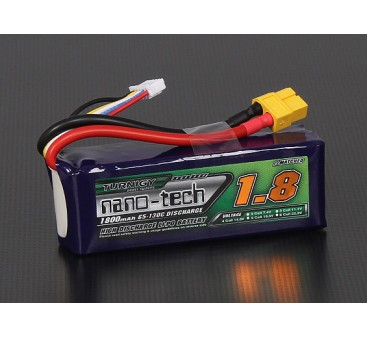 Turnigy nano-tech 1800mah 4S 65~130C Lipo Pack