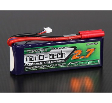 Turnigy nano-tech 2700mah 3S 65~130C Lipo Pack