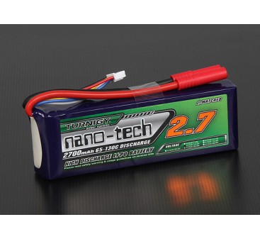 Turnigy nano-tech 2700mah 4S 65~130C Lipo Pack