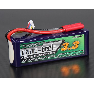 Turnigy nano-tech 3300mah 4S 65~130C Lipo Pack