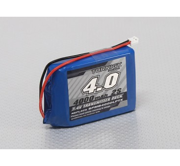 Turnigy 4000mAh Lipo Transmitter Battery (Compatible with Spektrum DX9 DX8 DX7S Intelligent Transmitter Pack)