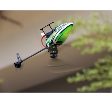 Assault 100 Flybarless Dual Brushless Micro 3D Helicopter w/RF Module (Radio Ready)