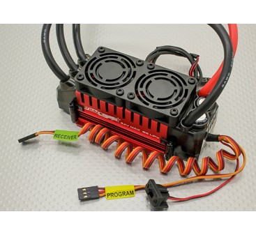Turnigy TrackStar 1/5th Scale Sensorless 200amp 8s Opto Car ESC