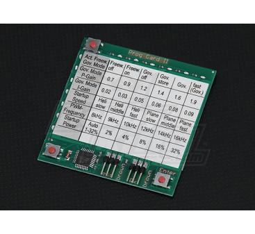 HobbyKing YEP ESC Programming Card