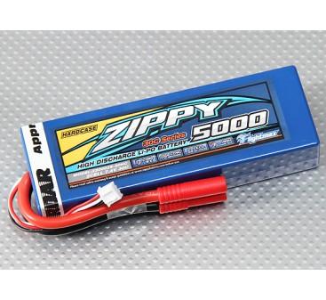 ZIPPY Flightmax 5000mAh 2S1P 30C hardcase pack (ROAR APPROVED)