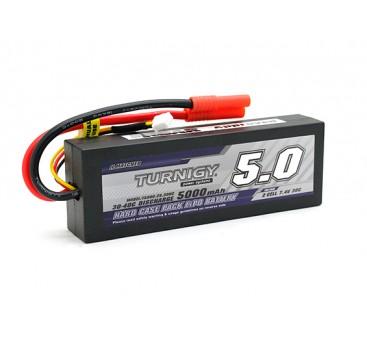 Turnigy 5000mAh 2S1P 7.4v 30C Hardcase Pack (ROAR APPROVED)