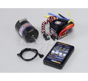 HobbyKing X-Car Brushless Power System 3000KV/45A