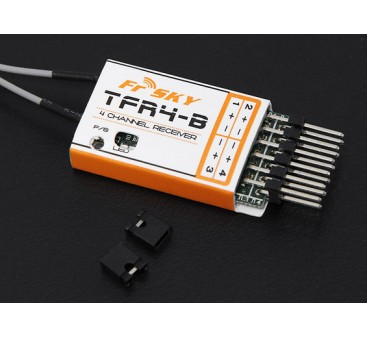 FrSky TFR4B 2.4Ghz 4CH Surface/Air Receiver FASST Compatible